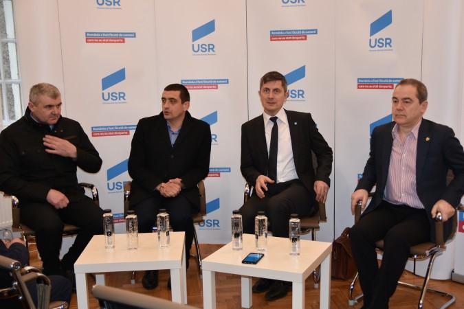 ApC întâlnire cu partidele - USR