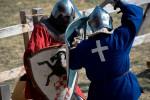 cavaleri turnir 1 la 1 festival medieval 2018 md vatra