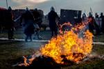 foc lupa camp festival medieval 2018 md vatra