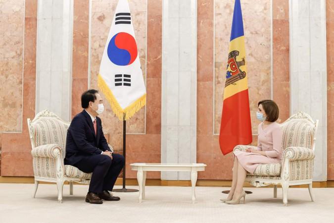 Ambasadorul Republicii Coreea
